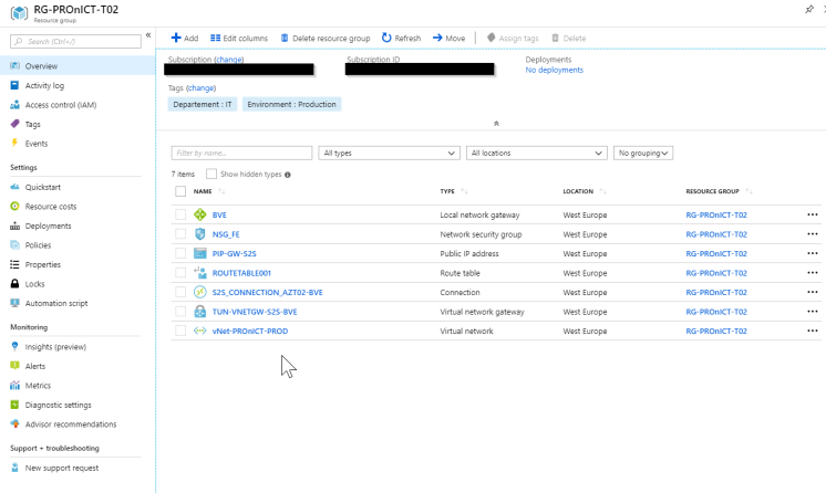 Deploy your Network and VPN Gateway via Terraform to Microsoft Azure